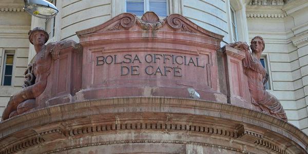 Bolsa Oficial de Café e Museu do Café - Santos - SP