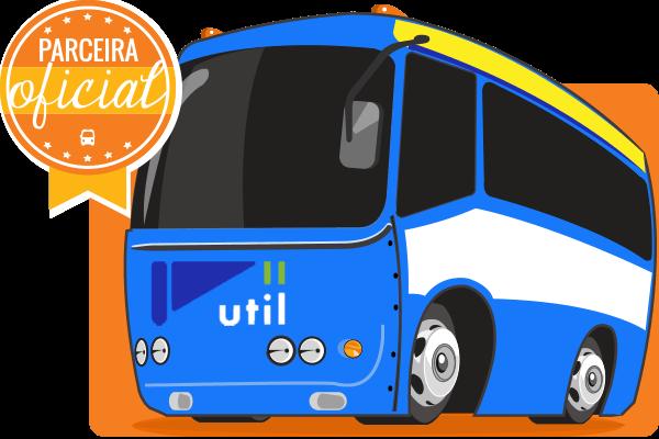 Viação Util - Parceiro Oficial para venda de passagens de ônibus