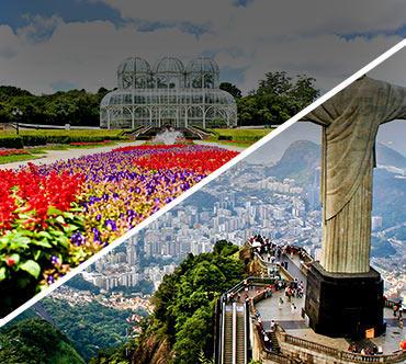 Boletos de autobús - Curitiba a Rio de Janeiro