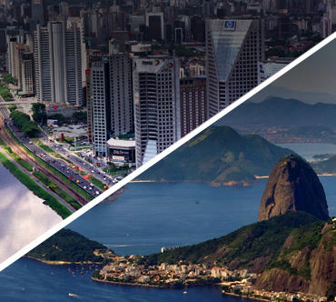 São Paulo x Rio de Janeiro