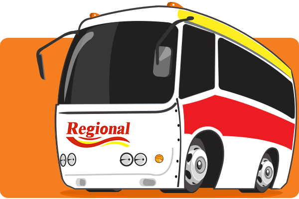 Empresa de Bus Regional - Canal Oficial para la venta de billetes de autobús