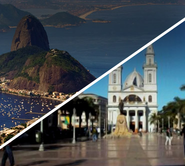 Boletos de autobús - Rio de Janeiro a Campos Goytacazes
