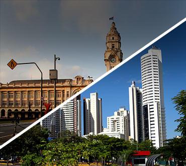 Boletos de autobús - São Paulo a Goiânia