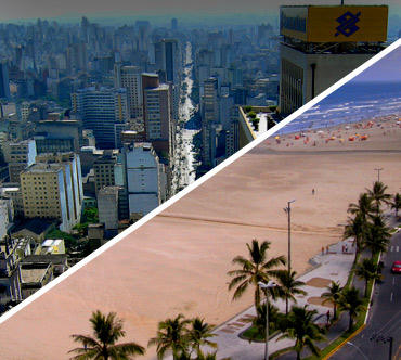 Bus tickets - São Paulo x Praia Grande