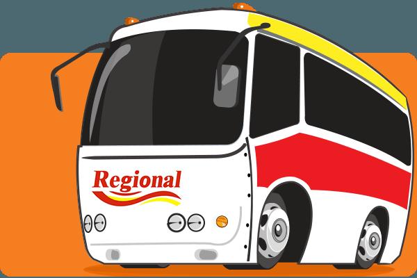 Viação Regional - Parceiro Oficial para venda de passagens de ônibus