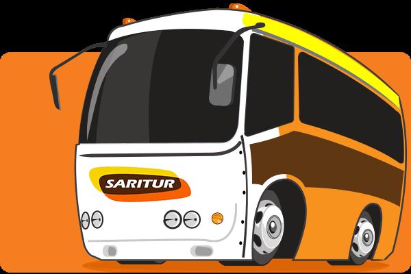 Saritur - Parceiro Oficial para venda de passagens de ônibus