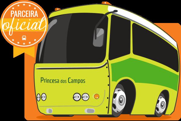 Viação Princesa dos Campos - Parceiro Oficial para venda de passagens de ônibus