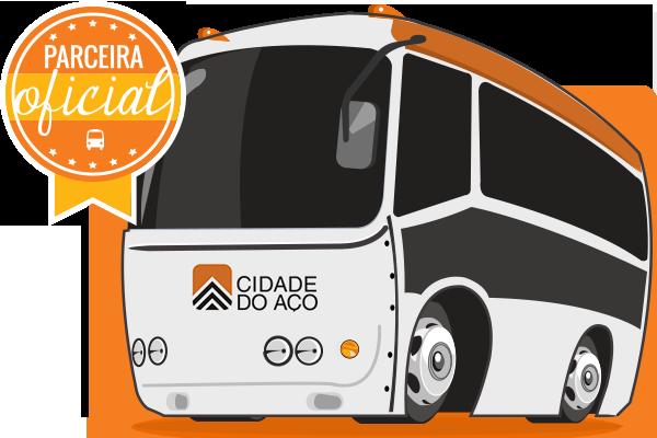 Viação Cidade do Aço - Parceiro Oficial para venda de passagens de ônibus