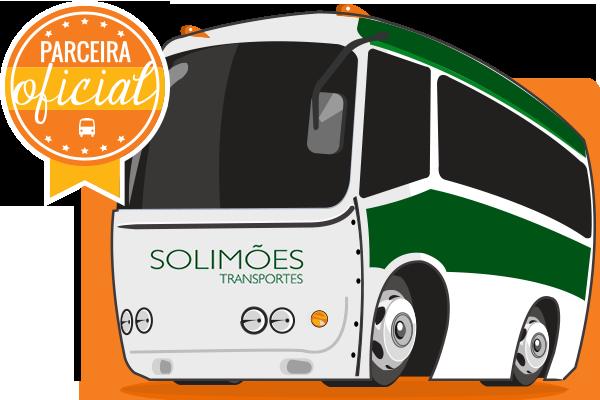Solimões Transportes - Parceiro Oficial para venda de passagens de ônibus