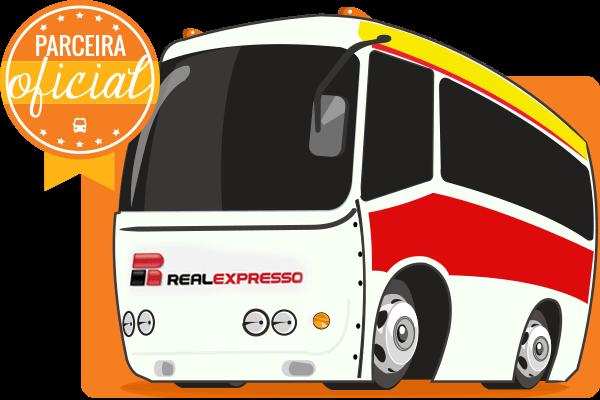 Viação Real Expresso - Parceiro Oficial para venda de passagens de ônibus