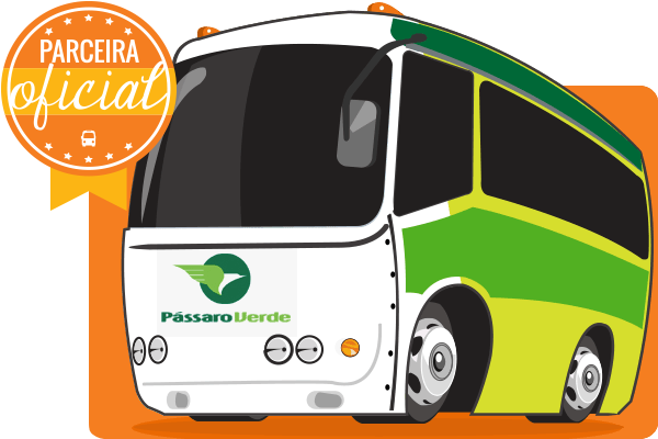 Viação Pássaro Verde - Parceiro Oficial para venda de passagens de ônibus