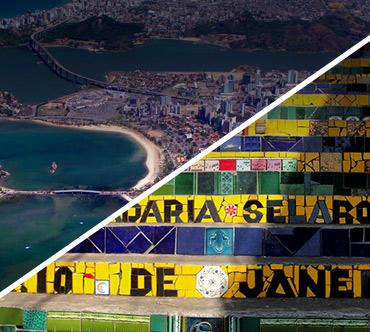 Boletos de autobús - Vitória a Rio de Janeiro