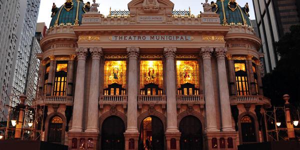 Teatro Municipal - Rio de Janeiro - RJ