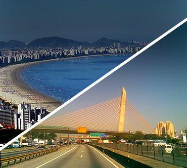 Bus tickets - Santos x Guarulhos