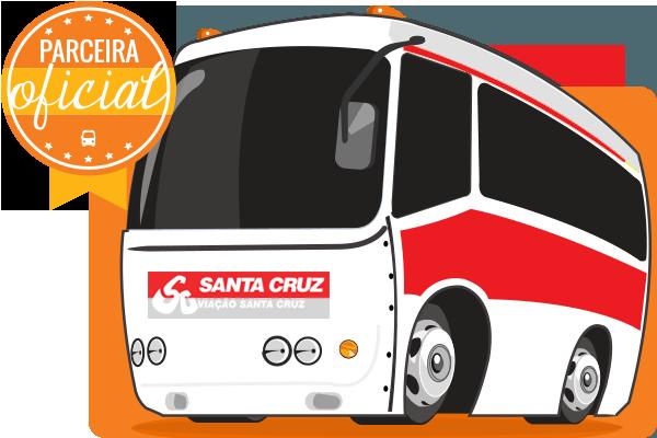 Viação Santa Cruz - Parceiro Oficial para venda de passagens de ônibus