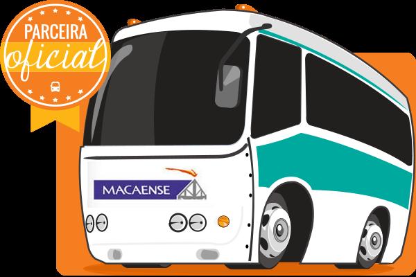 Viação Macaense - Parceiro Oficial para venda de passagens de ônibus