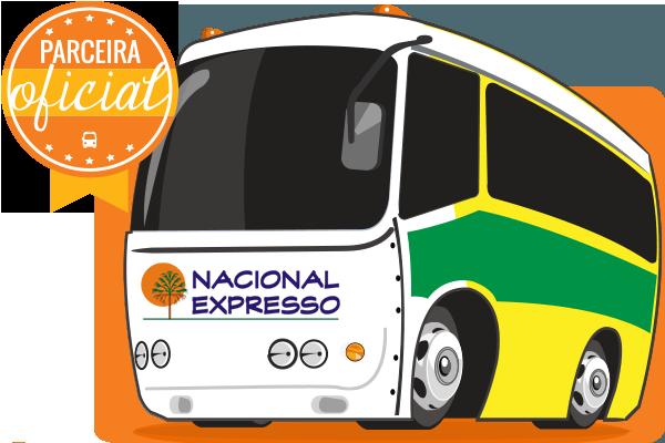 Nacional Expresso - Parceiro Oficial para venda de passagens de ônibus