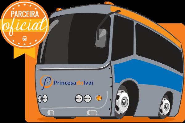 Viação Princesa do Ivaí - Parceiro Oficial para venda de passagens de ônibus