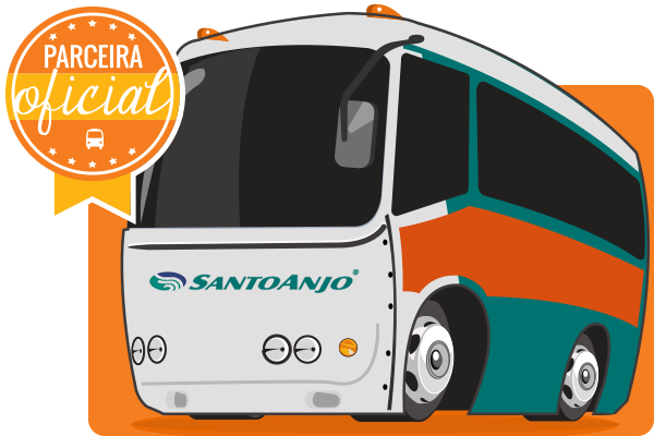 Santo Anjo - Parceiro Oficial para venda de passagens de ônibus