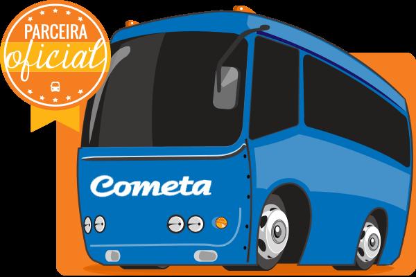 Viação Cometa - Parceiro Oficial para venda de passagens de ônibus