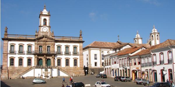 Praça Tiradentes/Museu da Inconfidência - Ouro Preto - MG