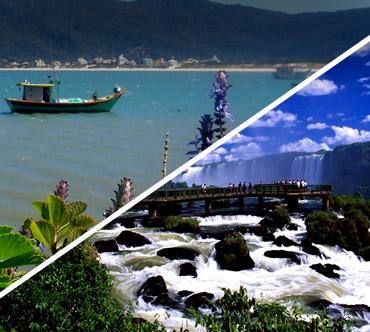 Florianópolis x Foz do Iguaçu