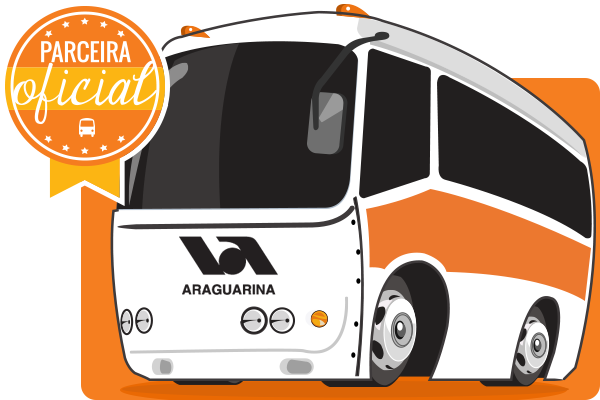 Viação Araguarina - Parceiro Oficial para venda de passagens de ônibus