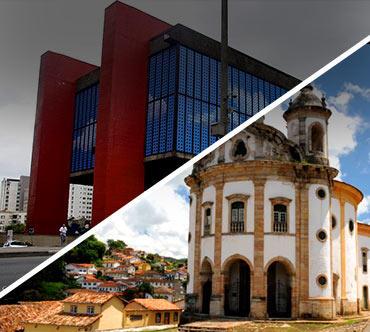 Passagem de ônibus - São Paulo x Ouro Preto