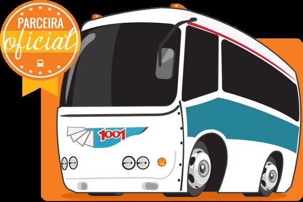 Viação 1001 - Parceiro Oficial para venda de passagens de ônibus
