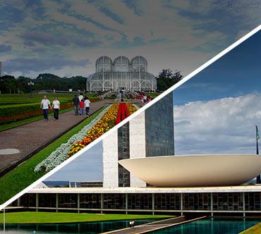 Boletos de autobús - Curitiba a Brasília