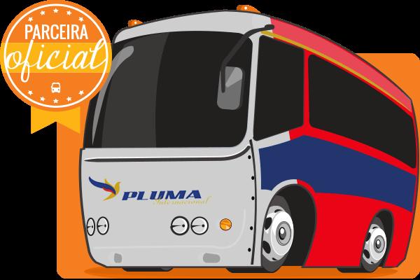 Viação Pluma - Parceiro Oficial para venda de passagens de ônibus