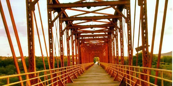 Ponte Metálica - Quixeramobim - CE