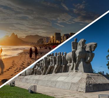 Bus tickets - Rio de Janeiro x São Paulo