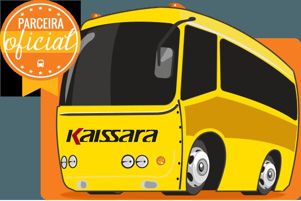 Viação Kaissara - Parceiro Oficial para venda de passagens de ônibus